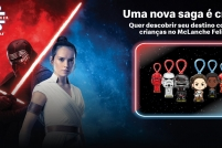 Chega ao McDonald's a campanha mais esperada do McLanche Feliz: os personagens de STAR WARS: A ASCENSÃO SKYWALKER, da Lucasfilm